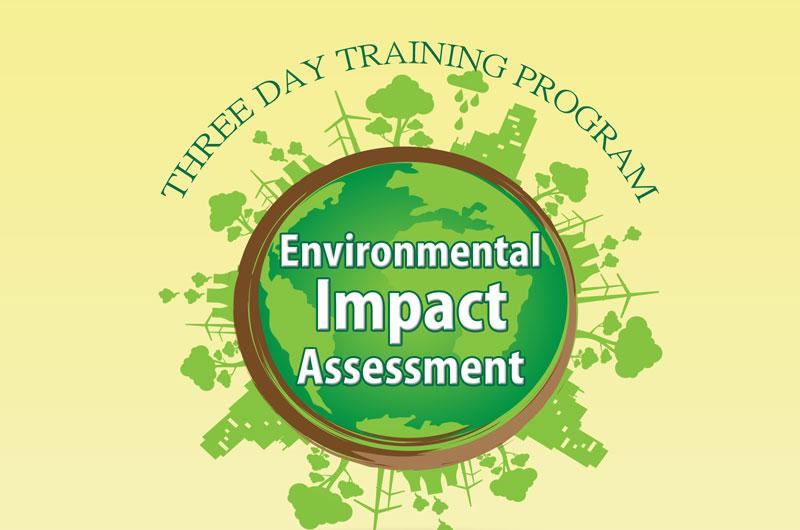 3 Day Training Program – Environmental Impact Assessment