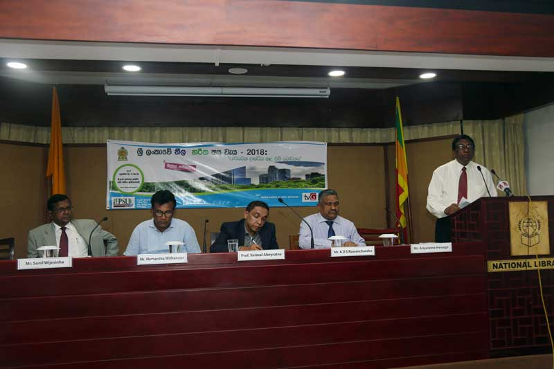 2018 Blue Green Budget of Sri Lanka:its Reality in Environmental Perspective
