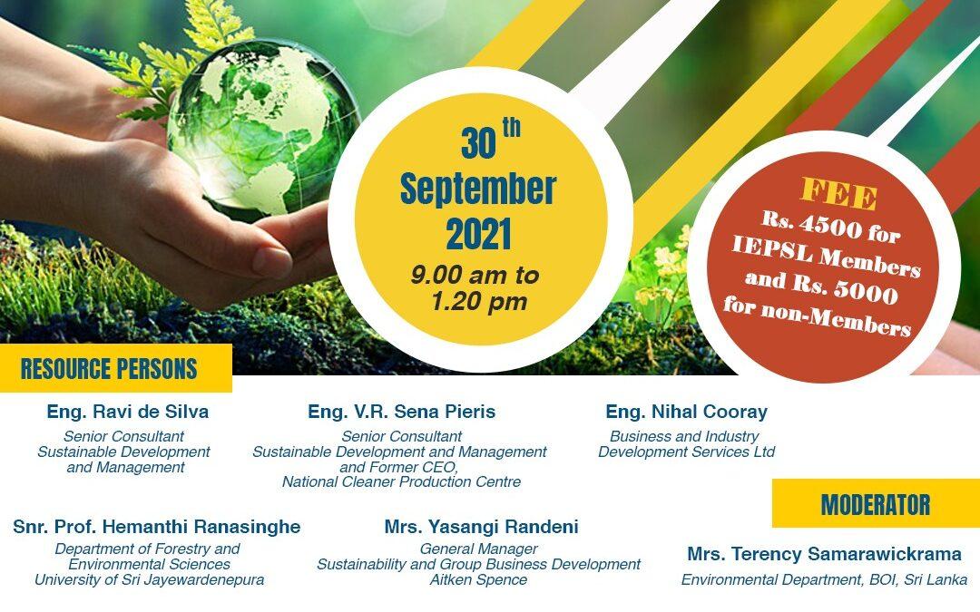 Workshop on Environmental Governance